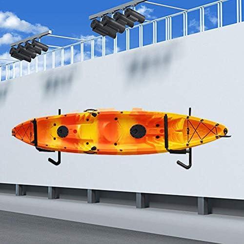 Due Ganci per Kayak Interni//Esterni per Il Garage o limpalcatura del Garage Il Gancio a Muro per Kayak resiste a Una capacit/à di 100 kg di stoccaggio del Kayak