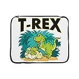 15 Inch Laptop Sleeve T-Rex Dinosaur Tyrannosaurus Baby