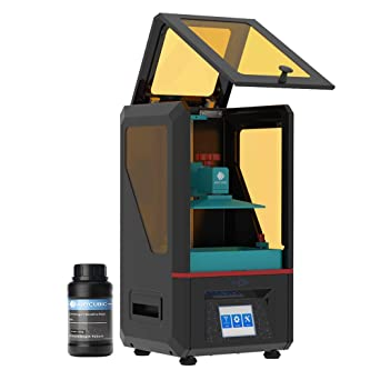 ANYCUBIC Photon UV Photocuring 3D Printer, Ultra Precision 2560x1440 2K HD  Masking LCD with Smart Touch Color Screen Off-line Print and UK Plug