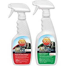 303 30572 Purpose Kit-Fabric Guard, Protectant, Water & Stain Repellent 32oz & Multi-Surface Cleaner, Home & Patio 16oz, 48. Fluid_Ounces