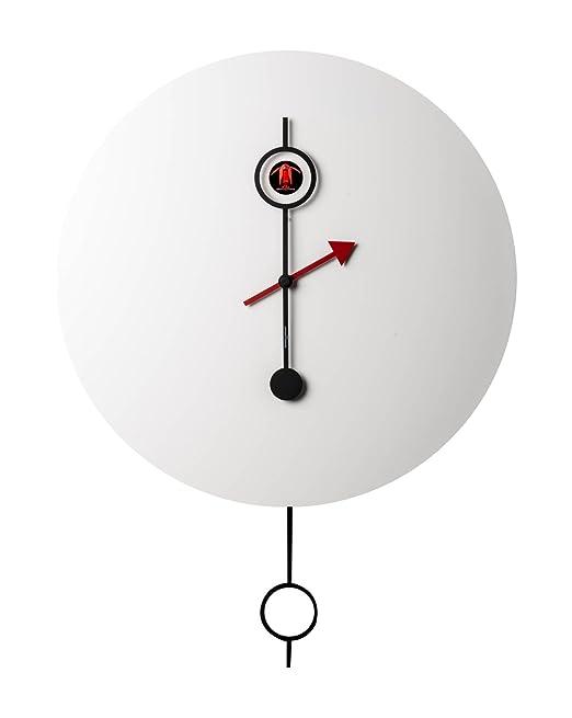 Diamantini & Domeniconi 45 cm de diamètre Wood CI Passo Horloge ...