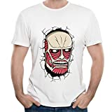 Attack On Titan - Titan's Face On The Wall Unique Men's T-shirt
