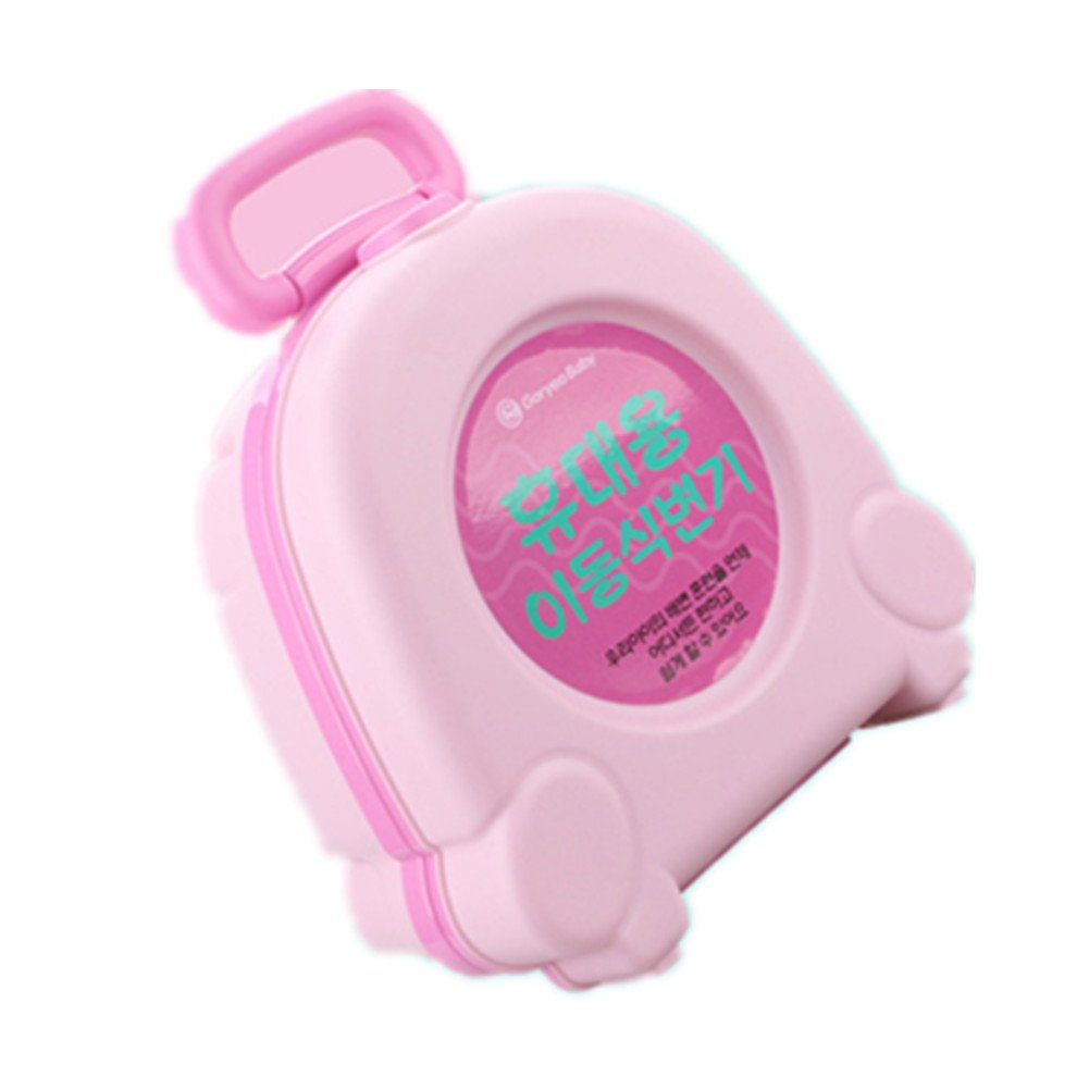 Portable Travel Potty Urinal for Boys and Girls Camping Car Travel - Perfect Mommy's Helper for Potty Training (Pink) BestBang