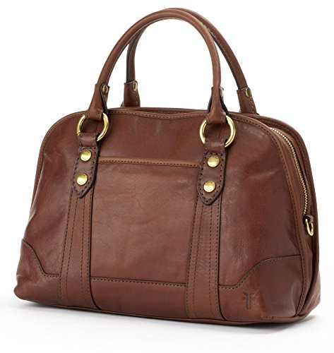 Handbag Domed Melissa Leather Redwood Satchel FRYE xgIBqB