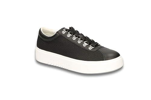 Geox NHENBUS D828DH 01485 Bianco Sneakers Scarpe Donna Calzature Casual