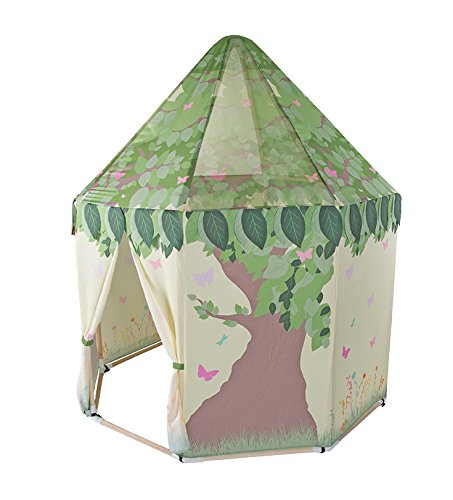 Pacific Play Tents Kids Butterfly Garden Wood Frame Pavilion Playhouse - 59'' x 63'' by Pacific Play Tents