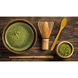 Bamboo Brush Matcha Whisk with Scoop and Spoon