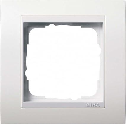 GIRA 0211327 interruptor y marco para enchufes - interruptores y marcos para enchufes (Color blanco