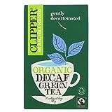 Clipper Organic Green Decaf Tea 20 bags (Pack of 6)