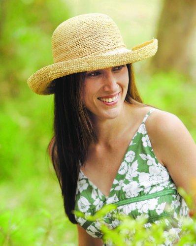 Wallaroo Women's Catalina Sun Hat - Handwoven Twisted Raffia Sun Hat, Natural