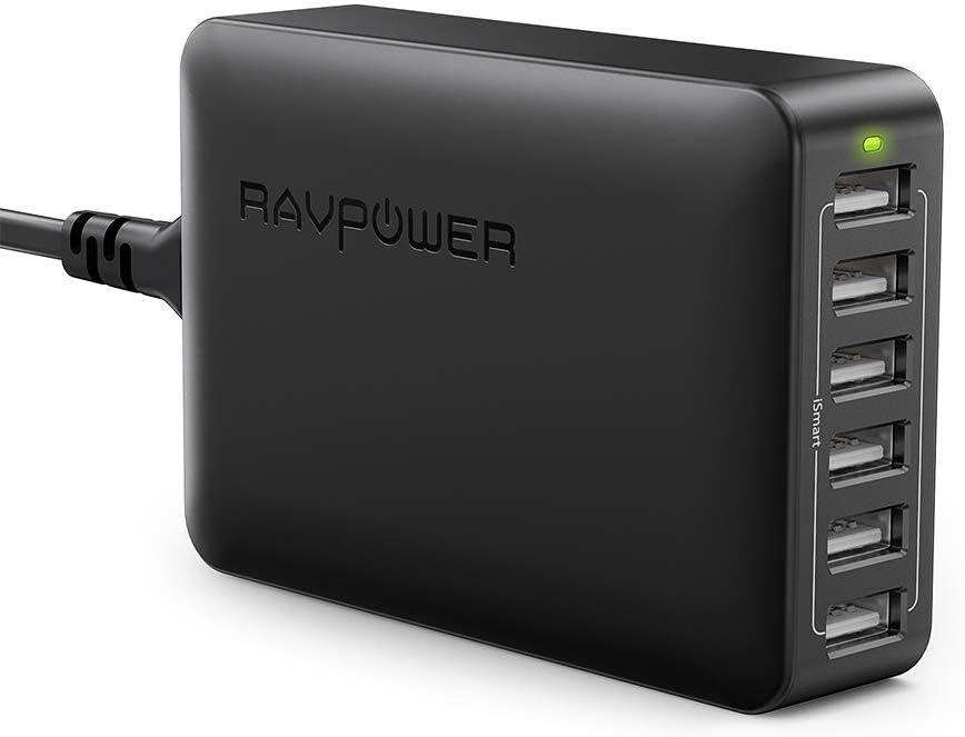 6-Port Desktop USB Charging Station