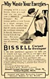 1911 Ad Bissell Carpet Sweeper Cleaner Broom Housewife - Master Print Ad