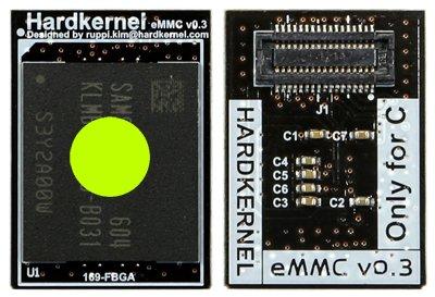 64GB eMMC Module ODROID-C1+ Android