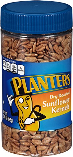 Planters Dry Roasted Sunflower Kernels, 5.85 oz Jar
