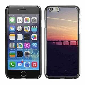 "Shell-Star ( San Francisco Sunset ) Fundas Cover Cubre Hard Case Cover para 4.7"" iPhone 6"