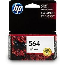 HP 564 Photo Black Ink Cartridge (CB317WN) for HP Deskjet 3520 3521 3522 3526 Officejet 4610 4620 4622 Photosmart 5510 5514 5515 5520 5525 6510 6512 6515 6520 6525 7510 7515 7520 7525 B8550 C6340…