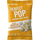 IPS Protein Popcorn | White Cheddar | 1 Ounce (Pack of 24)