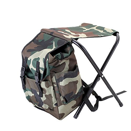 Compare price to cooler chair camo for Fishing backpack chair
