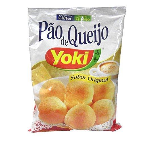 Pao de Queijo 5-delige voordeelverpakking YOKI Braziliaanse kaasbroodjes