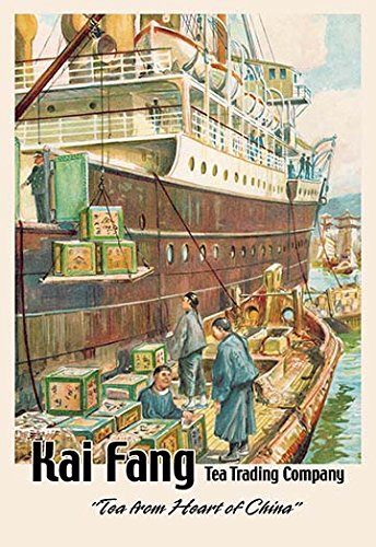 Buyenlarge 0-587-01926-3-C4466 Kai Fang Tea Trading Company: Tea from The Heart of China Gallery Wrapped Canvas Print, 44