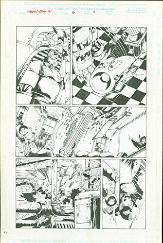 Marvel team Up #6 Josh Hood Original Comic Art Page #3 Spider-Man Sub-Mariner (Art Book Comic Original)