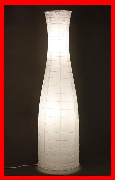 Trango Lámpara de pie de diseño moderno I lámpara de papel de ...