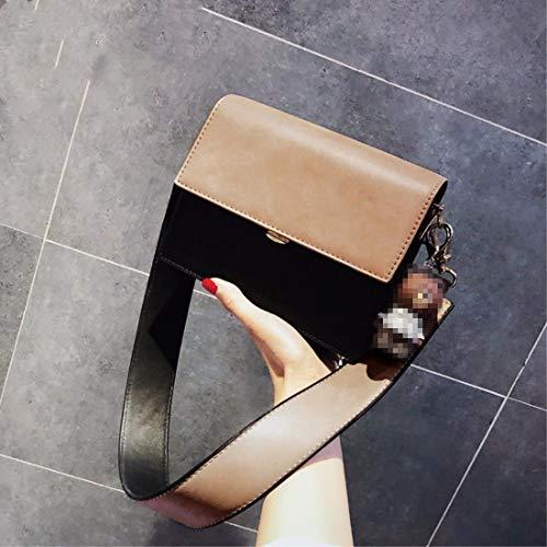 con tasca singola Portafoglio borsa a tracolla borsa shopping lunga nero singola tracolla donna multipla tracolla a nero 0wOBOq5Fn