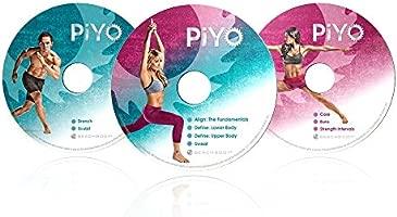 Audrey G. Piyo DVD de Ejercicios de Pilates y Yoga Hardcore ...