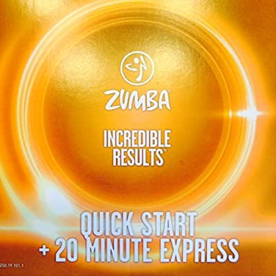 Zumba Fitness Quick Start+20 Minute Express DVD From The Incredible Results  Set!