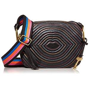 Fossil Women's Elle Leather Crossbody Purse Handbag