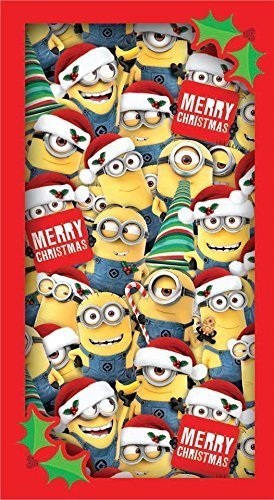despicable me minions merry christmas card multi minions - Minions Merry Christmas