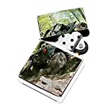 Off Road 4x4 Jeep - White Lighter Windproof Flip-Top Refillable with tin gift box