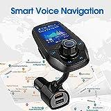 Guanda Bluetooth FM Transmitter for Car, Bluetooth