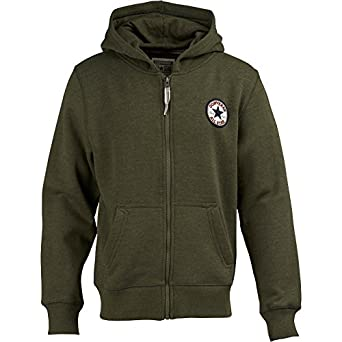 08316428e011 Kids Converse Sweatshirt Olive Heather Childs Junior (Size 13 UK Age 13-14  Euro