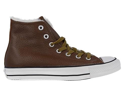 8998c8adc Converse - Zapatillas de cuero para hombre marrón Marrón   marrón claro