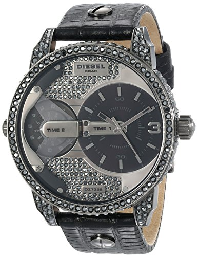 - Diesel Men's DZ7328 Mini Daddy Analog Display Analog Quartz Black Watch
