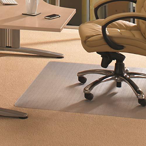 Cleartex Advantagemat, Chair Mat for Low Pile Carpets (1/4