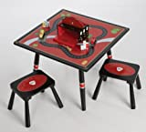 Levels of Discovery Firefighter Child's Table and 2 Stool Set