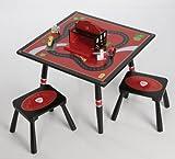 Firefighter Table & 2 Stool Set