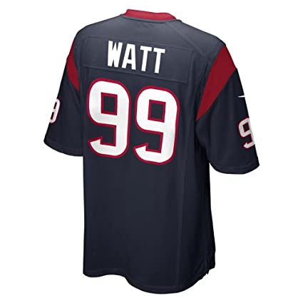 newest collection e4c49 e56ff JJ Watt Houston Texans Navy Blue NFL Youth Nike Home Game Day Replica  Jersey (Youth Medium )