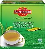 Barrington Planters Reserve Organic Green Tea 100 Tea Bags Review