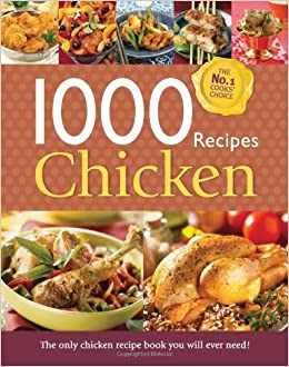 1000 Recipes , Chicken , Large Format Hardback Book. Photo\u0027s