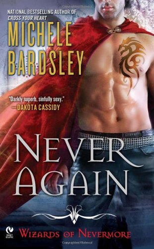 book cover of Never Again
