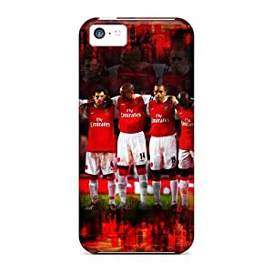 Tpu Case For Iphone 5c With The Popular Football Team Arsenal