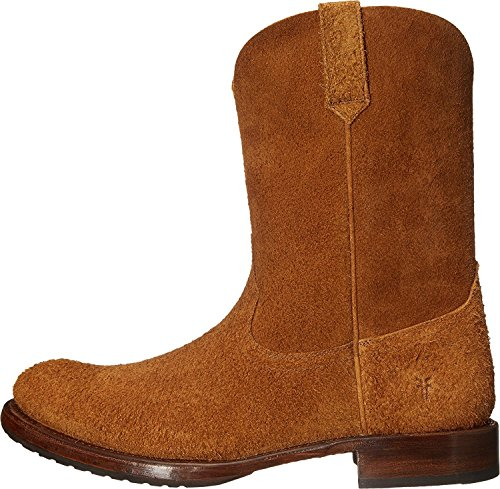 Frye Mens Duc Roper Botte Ouest Tan