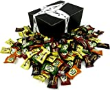 Bali's Best Coffee & Tea Candies 6-Flavor Variety: One 2 lb Assorted Bag of Coffee, Espresso, Latte, Green Tea Latte, Citrus Green Tea, and Classic Iced Tea in a BlackTie Box