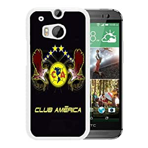 Club America 6 White Fashionable Design HTC ONE M8 Plastic Case