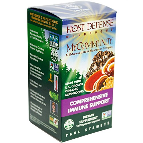 Herbal Syrup Echinacea (Host Defense - MyCommunity Capsules, Comprehensive Immune Support, 120 count)