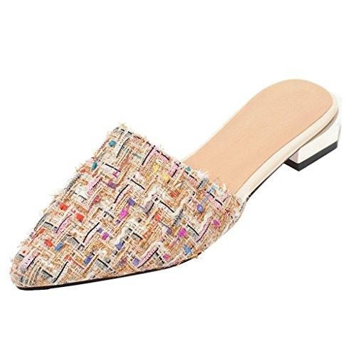 Abricot Femme JYshoes JYshoes Mules Mules wR41qfg
