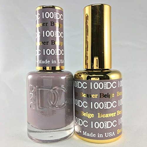 DND DC Duo Gel + Polish - 100 Beaver Beige